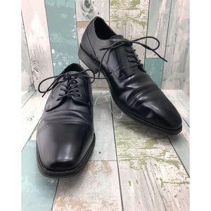 Black Leather Dress Shoes Men's Size 12 M